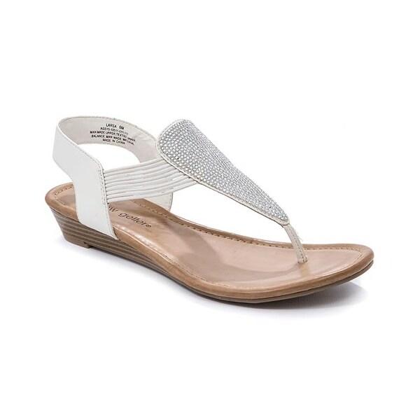 Andrew Geller Larsa Women's Sandals & Flip Flops White