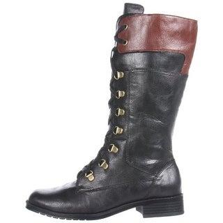 Aerosoles Women's Joyride Lace Up Military Combat Boots