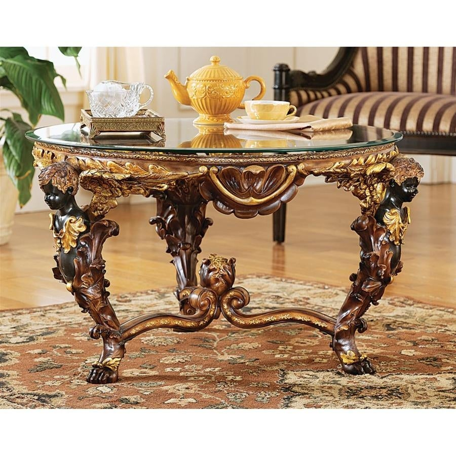 Design Toscano Berninis Cherubs Coffee Table