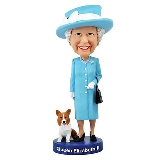 Queen Elizabeth II Bobble Head - multi