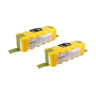 Replacement Battery for iRobot IRB530VX (2-Pack) Replacement Battery