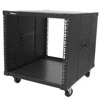 Startech Portable Server Rack With Handles - Rolling Cabinet - 9U