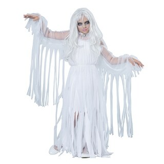 Girls Ghostly Girl Halloween Costume