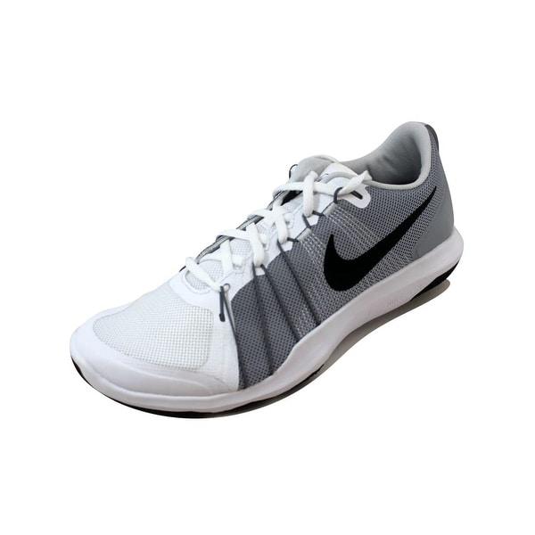 Nike Men's Flex Train Aver White/Black-Wolf Grey 831568-100