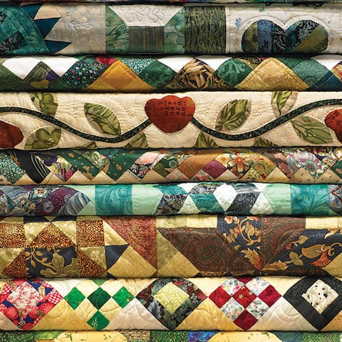 Outset Media Grandma's Quilts 1000 Piece Photo Jigsaw Puzzle - Multicolor