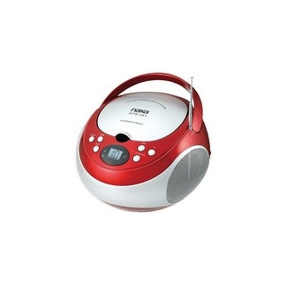 Naxa NAXNPB251RDR NAXA Electronics NPB-251RD Portable CD Player with AM/FM Stereo Radio