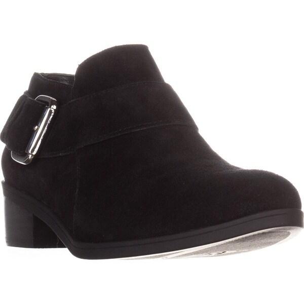 Bella Vita Hadley Ankle Boots, Black Suede