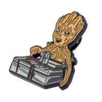 Guardians of the Galaxy Baby Groot & Bomb Enamel Collector Pin, Toynk Exclusive - multi