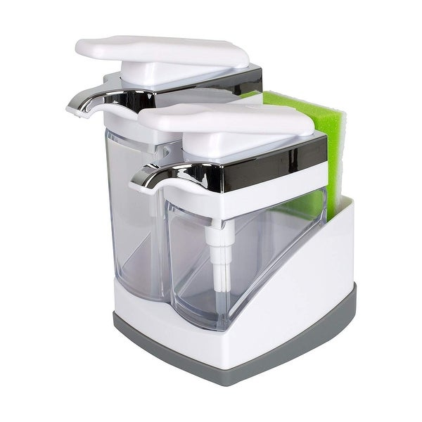 Shop Casabella Sink Sider Duo With Sponge Storage for Dish Soap