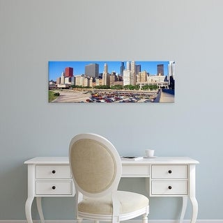 Easy Art Prints Panoramic Images's 'Chicago Skyline, Illinois' Premium Canvas Art