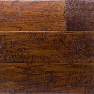 "Miseno MFLR-MERLOT-E  Vineyard Engineered Hardwood Flooring - 5"" Planks (36.3 SF / Carton) - Hickory Merlot"