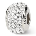 Sterling Silver Reflections April Full Swarovski Elements Bead (4mm Diameter Hole) - Thumbnail 0