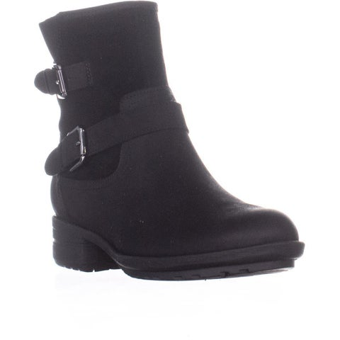 Aqua Taylor Block Heel Ankle Boots, Black Multi - 7 US / 37 EU