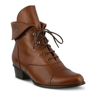 Spring Step Women's Galil Medium Brown Leather