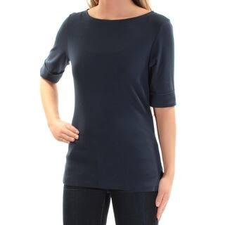 328d3f55f0e Quick View.  13.99. KAREN SCOTT Womens Navy Short Sleeve Jewel Neck Top Size   XS. SALE. Quick View