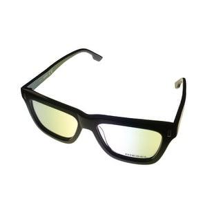 Diesel Mens Opthalmic Eyeglass Frame Plastic Square Black DL5044 3 - Medium