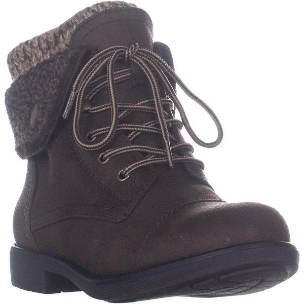 ad4dc52fc0a Shop Cliffs White Mountain Decker Fold Over Winter Boots, Brown - 8 ...
