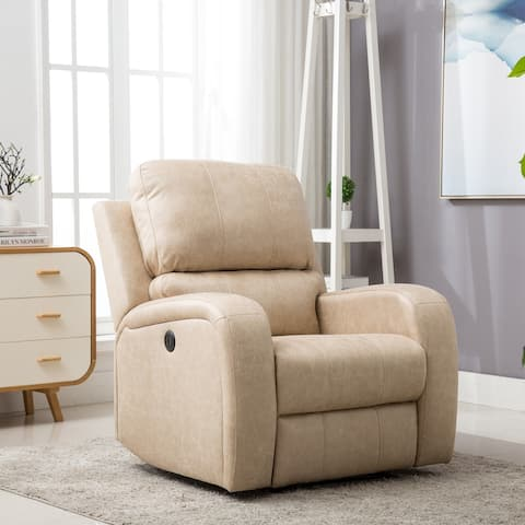 Power Recliner Chair with USB Charge Port