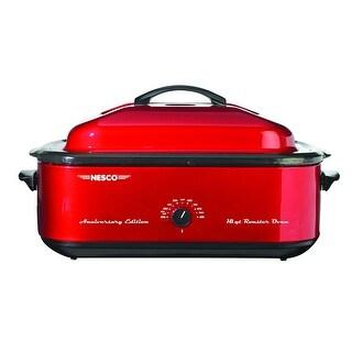 Nesco 4818-22 Anniversary Edition Roaster Oven, 18-Quart, Red