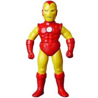 "Marvel Retro Iron Man 10"" Sofubi Action Figure"