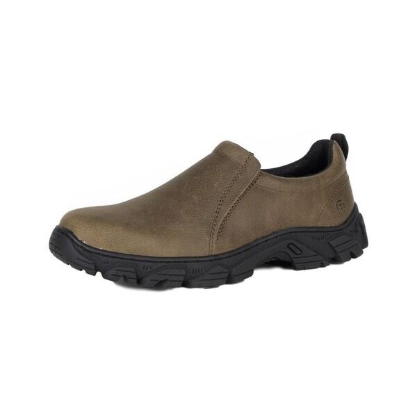 Roper Western Shoes Mens Lightfoot Brown Black 09-020-0641-0105 BR
