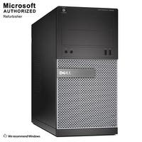 Dell 3020 TW Intel i3-4130 3.40GHz, 8GB RAM, 500GB HDD, DVD, WIFI, BT 4.0, VGA, DP, HDMI Adapter, WIN10P64(EN/ES)-Refurbished