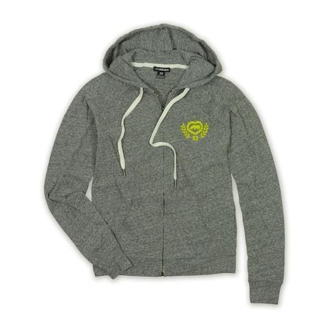 Ecko Unltd. Womens Long Sleeve Zip Front Hoodie Sweatshirt