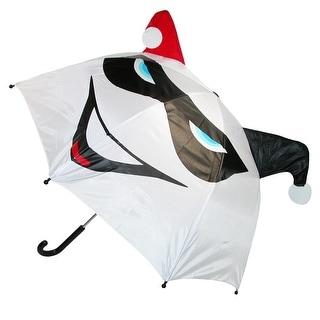 BioWorld Women's DC Comics Harley Quinn Pop Up Umbrella - White - One Size