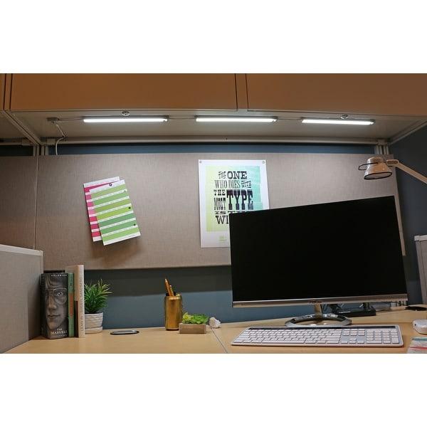 Kitchen Under Cabinet Counter Led Lighting Free Shipping: Shop BLACK+DECKER LED Under Cabinet Lighting Kit, 12