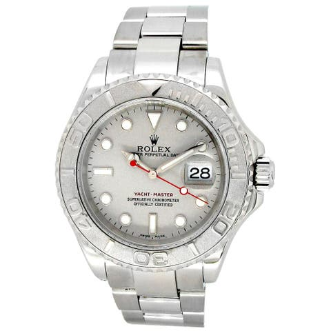 Pre-owned 40mm Stainless Steel Yacht-Master Watch