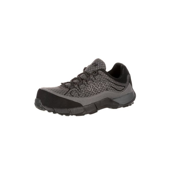 Rocky Work Shoes Mens Broadhead Composite Athletic Black