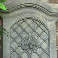 Sunnydaze Rosette Leaf Outdoor Wall Fountain, 31 Inch Tall - Thumbnail 11