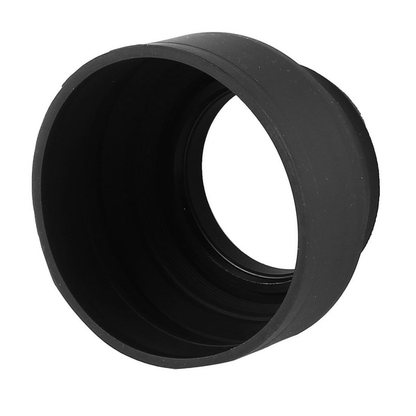 Unique Bargains Foldable 3 Way 49m Screw-in Mount Soft Rubber Lens Hood for SLR Digital Camera