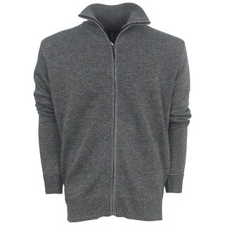 True Rock Men's Full Zip Golf Sweater