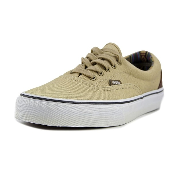 24e89014d44f71 Shop Vans Era Men Round Toe Canvas Tan Sneakers - Free Shipping On Orders  Over  45 - Overstock.com - 16923572