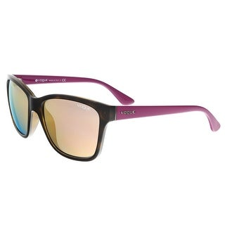 Vogue VO2896S W6565R Havana Square Sunglasses - 54-17-140