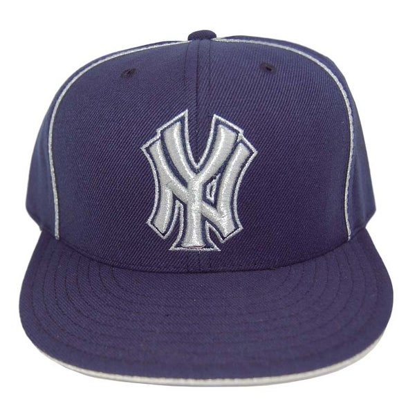 940c8c13da5ff9 ... germany shop mlb new york yankees vintage american needle navy silver  lining fitted hat cap 7