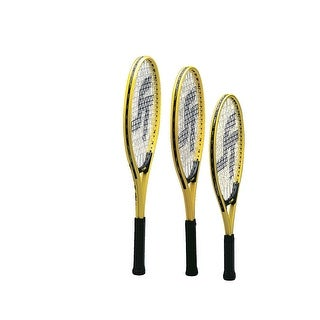 Sportime Yeller Adult Tennis Racquet, 27 Inches, Yellow/Black