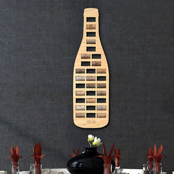 Wine Bottle Wine Cork Map