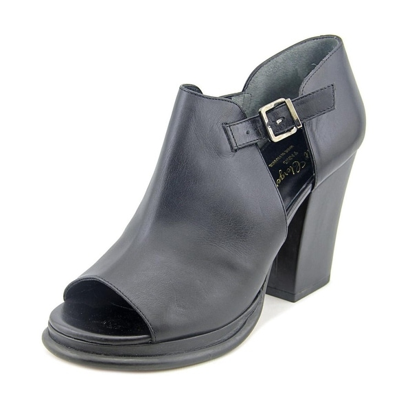 Robert Clergerie NEW Black Women's Shoes 9.5M Amam Leather Bootie