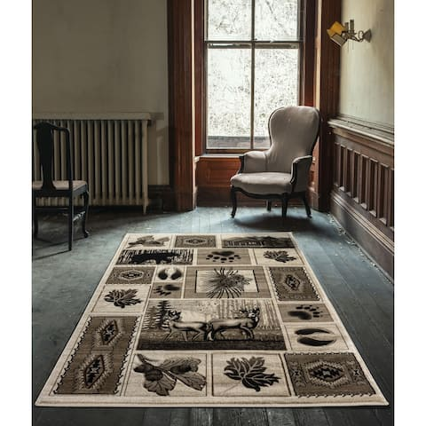 Wildlife Collection Area Rug