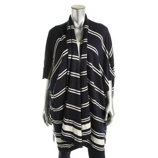 Lauren Ralph Lauren Womens Mandolie Cardigan Sweater Drapey Striped|https://ak1.ostkcdn.com/images/products/is/images/direct/b6bb3d236594437662911aa15925976331c1d3cd/Lauren-Ralph-Lauren-Womens-Cardigan-Sweater-Drapey-Striped.jpg?impolicy=medium