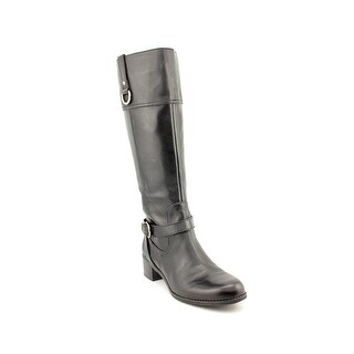 Bandolino Carmine Round Toe Leather Knee High Boot
