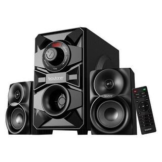 Boytone BT-328F, 2.1 Wireless Bluetooth Multi Media speaker, powerful home theater speaker systems, FM Radio, SD, USB ports, AUX