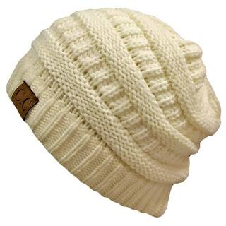 Trendy Warm CC Chunky Soft Stretch Cable Knit Soft Beanie, Ivory|https://ak1.ostkcdn.com/images/products/is/images/direct/b6be2a5018b74bd6cadaea818fca15d97250e2d6/Trendy-Warm-CC-Chunky-Soft-Stretch-Cable-Knit-Soft-Beanie%2C-Ivory.jpg?impolicy=medium