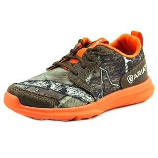 Ariat Fuse Round Toe Canvas Running Shoe