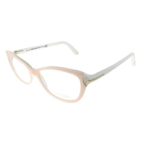Tom Ford FT 5286 072 54mm Womens Light Pink Frame Eyeglasses 54mm