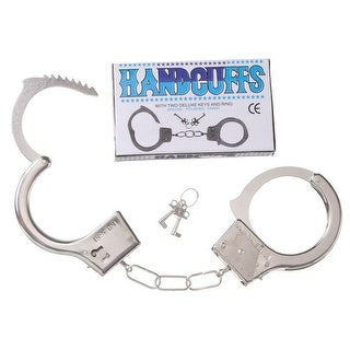 Gift Corral Western Toy Boys Girls Kids Handcuffs Metal 87-1315