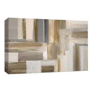 """PTM Images 9-148111  PTM Canvas Collection 8"""" x 10"""" - """"Fields II"""" Giclee Abstract Art Print on Canvas"""