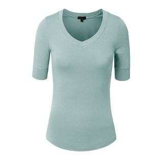 8eb1e0989410ae Buy 3/4 Sleeve Shirts Online at Overstock | Our Best Tops Deals